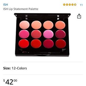 ISH lip palette still in packaging!